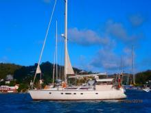 Jeanneau Voyage 12.50 : Au mouillage en Martinique